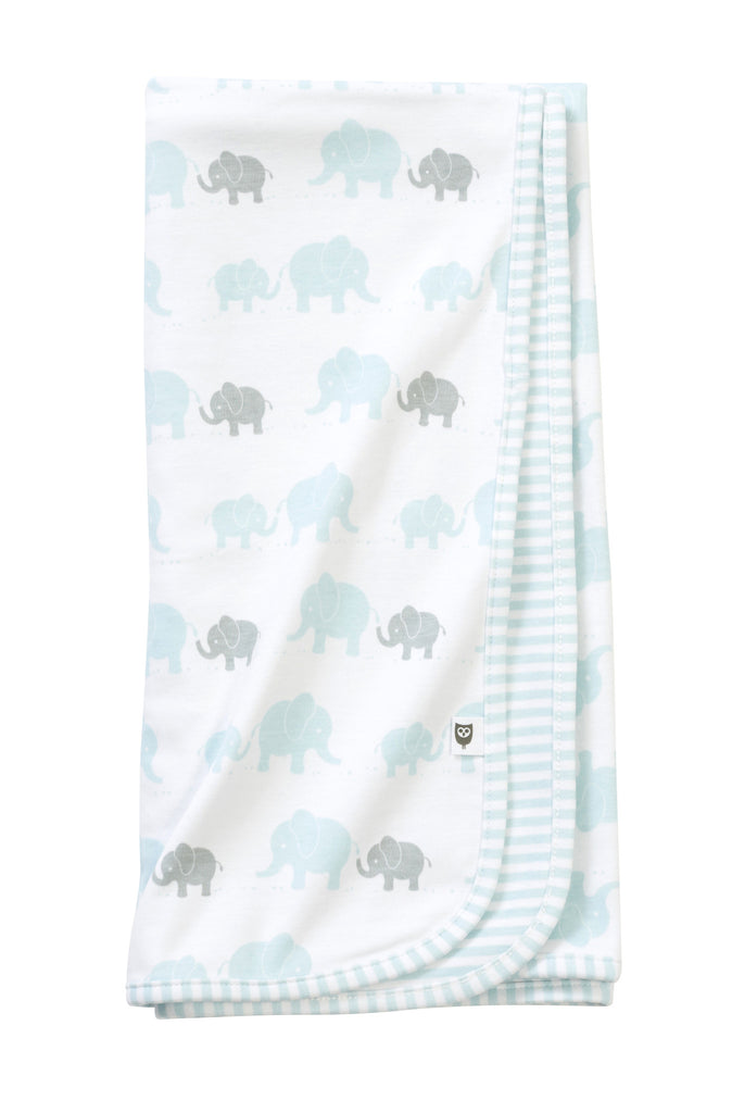 Hoot Baby Elephant Wrap - Aqua - Clothing - Ankle-Biters