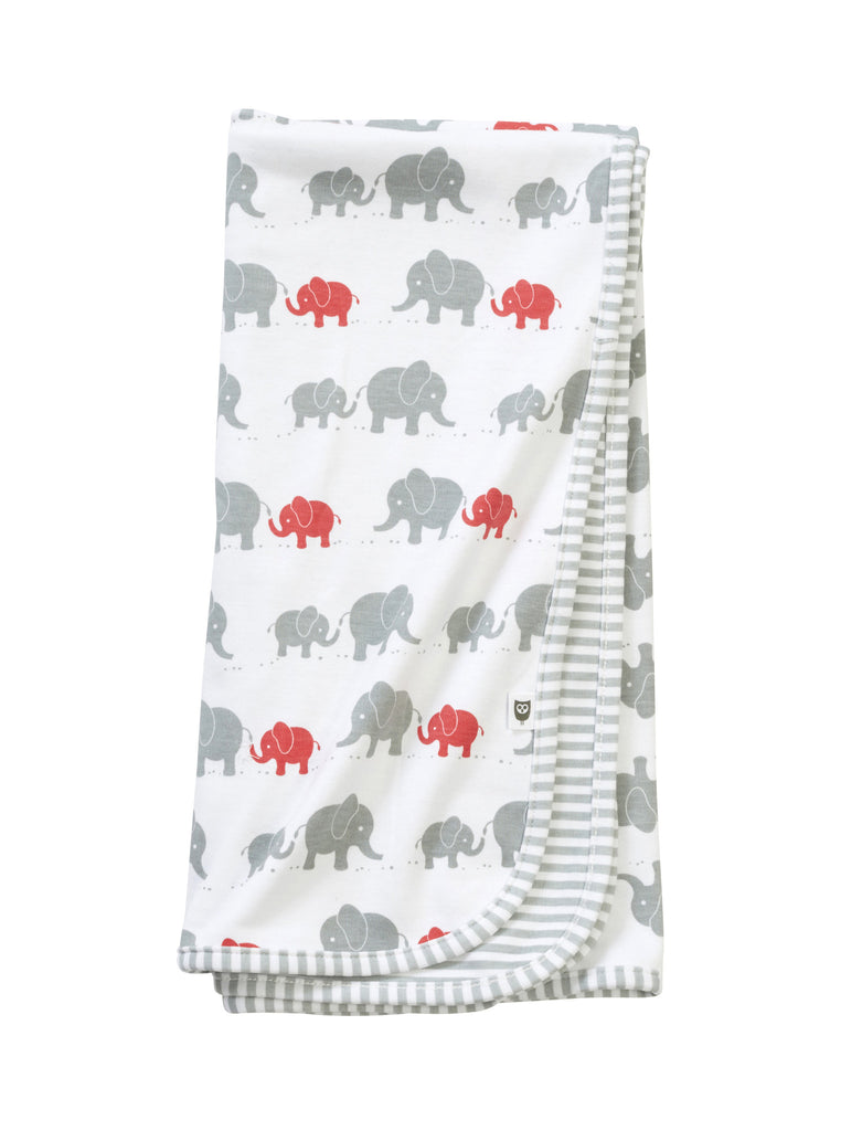 Hoot Baby Elephant Wrap - Red - Clothing - Ankle-Biters - 1