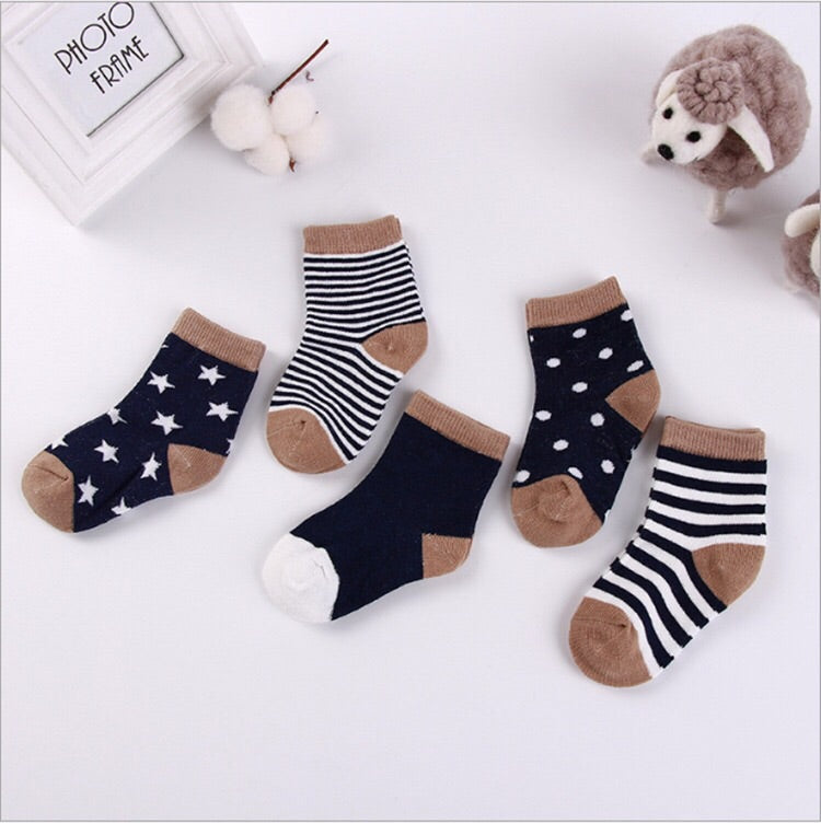 Socks - Pink / Blue / Navy