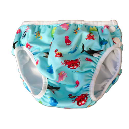Swim Nappy - Blue Atlantic - Swim Nappy - Ankle-Biters