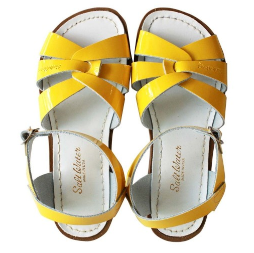 Saltwater Original Yellow - Saltwater Sandal - Ankle-Biters - 1