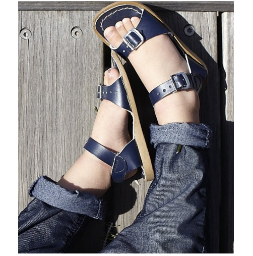 Saltwater Surfer Navy - Saltwater Sandal - Ankle-Biters