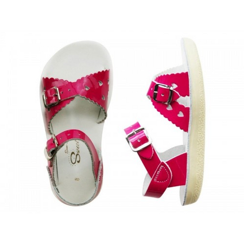Saltwater Sweetheart Fuchsia - Saltwater Sandal - Ankle-Biters - 1