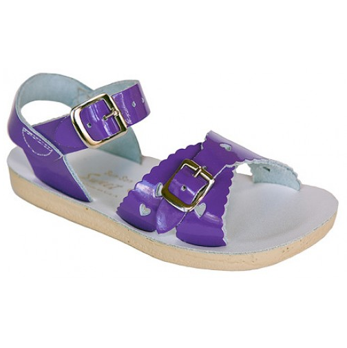 Saltwater Sweetheart Purple - Saltwater Sandal - Ankle-Biters - 1