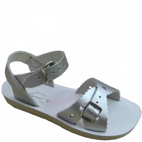 Saltwater Sweetheart Silver - Saltwater Sandal - Ankle-Biters - 1