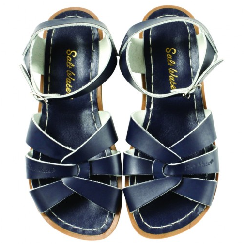Saltwater Original Navy - Saltwater Sandal - Ankle-Biters - 1