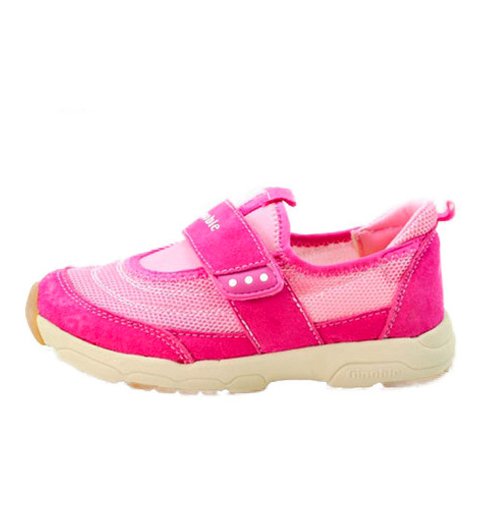 Hot Pink Feather - Toddler & Children Shoes - Ankle-Biters - 1