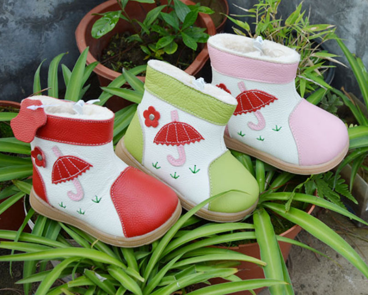 Raindrops in Blossom - Toddler & Children Shoes - Ankle-Biters - 5