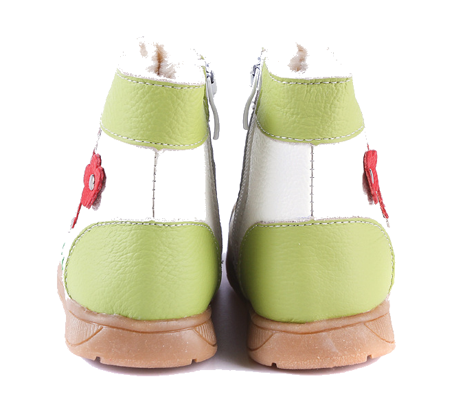 Raindrops in Lime - Toddler & Children Shoes - Ankle-Biters - 6