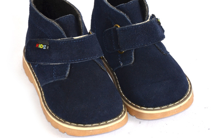 Desert Cute (Navy) - Toddler & Children Shoes - Ankle-Biters - 3
