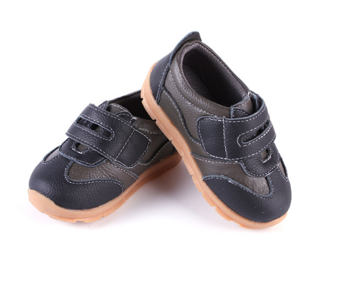 Leather Sprint in Brown - Toddler & Children Shoes - Ankle-Biters - 4