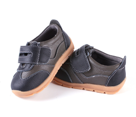 Leather Sprint in Brown - Toddler & Children Shoes - Ankle-Biters - 3