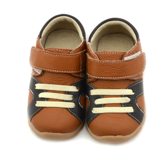 Casual Leathers in Tan - Toddler & Children Shoes - Ankle-Biters - 4