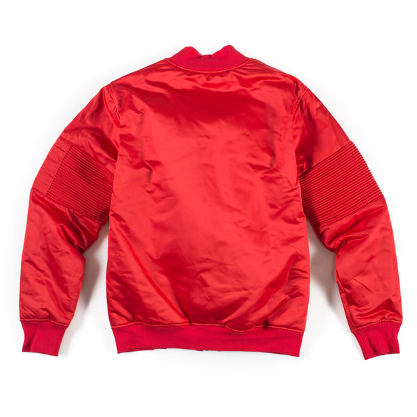 Astor Multi Zip Jacket (Red)