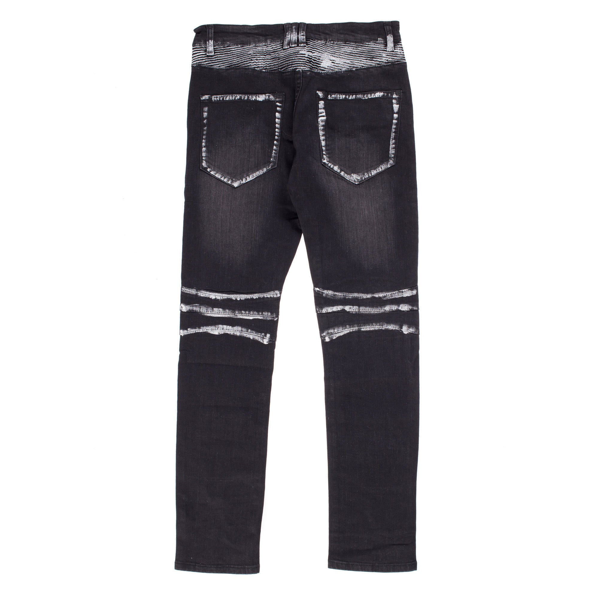 """Baldwyn Denim"" (Black/White Paint)"