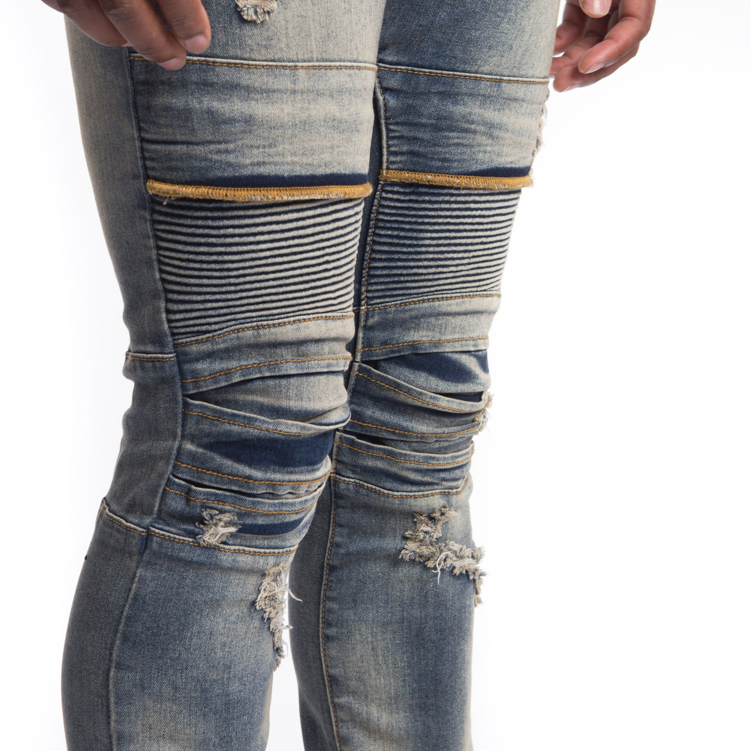 """Baldwyn Denim"" (Blue Technical)"