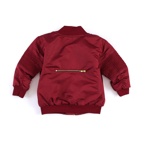 "KID'S""ASTOR""MOTOJACKETBURGUNDY"