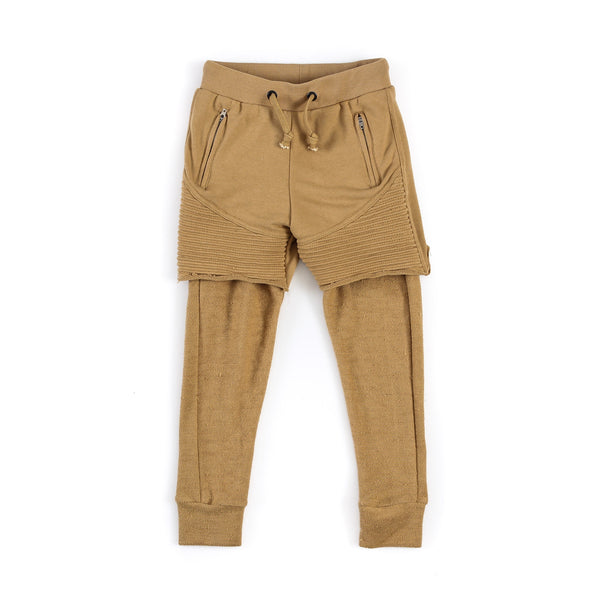 "Kid's ""Quint"" Two Piece Jogger (CAMEL)"