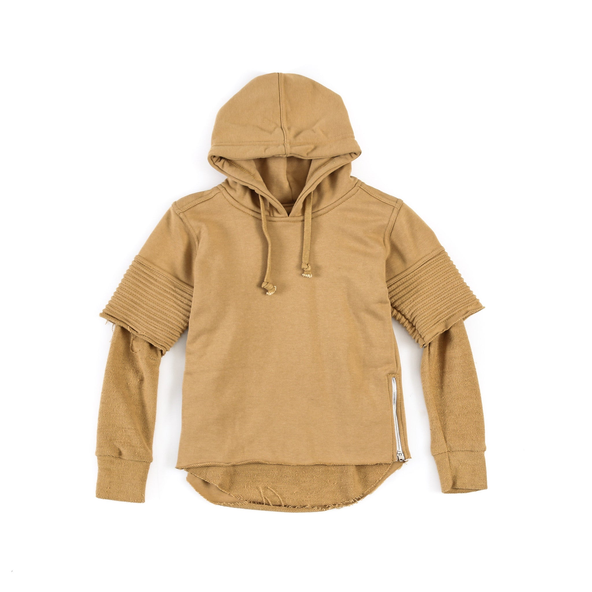 "Kid's ""Quint"" Two Piece Hoody (CAMEL)"
