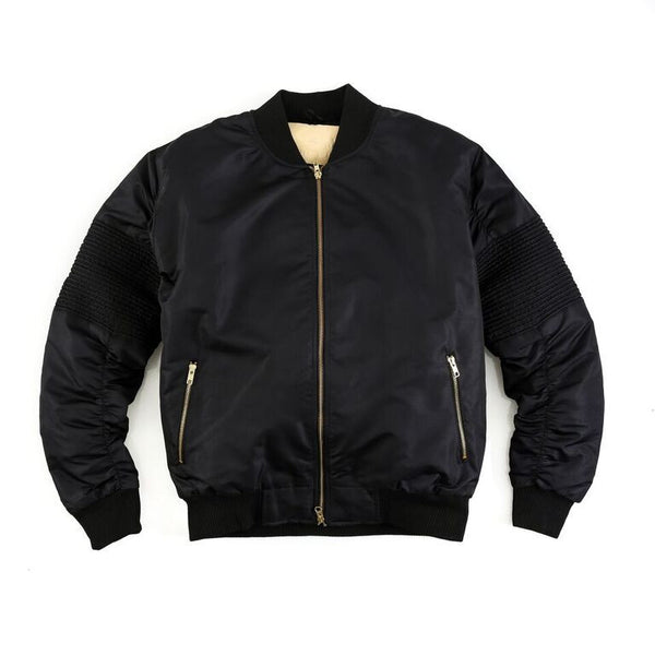 """Astor"" Moto Jacket (Black)"