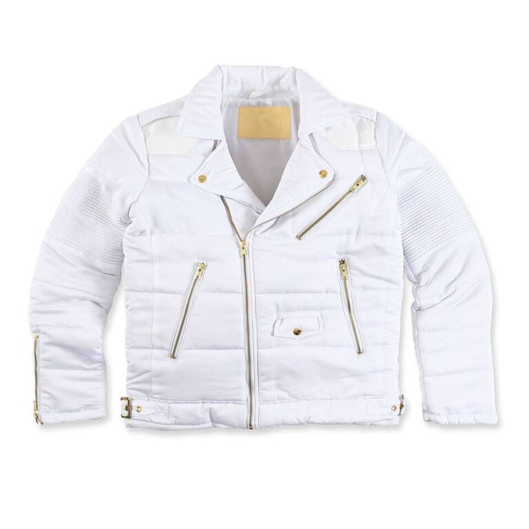 """Wraith"" Jacket (Triple White)"