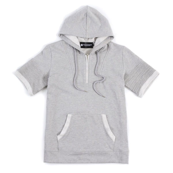 Bryson S/S Hoody (Heather Grey)