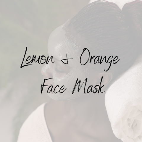 Lemon & Orange Face Mask