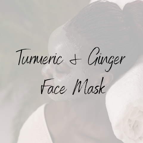 Turmeric & Ginger Face Mask