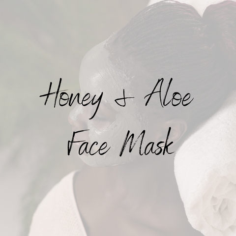 Honey & Aloe Face Mask
