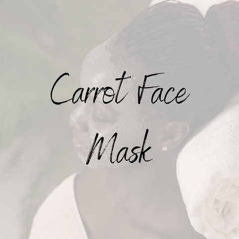Carrot Face Mask