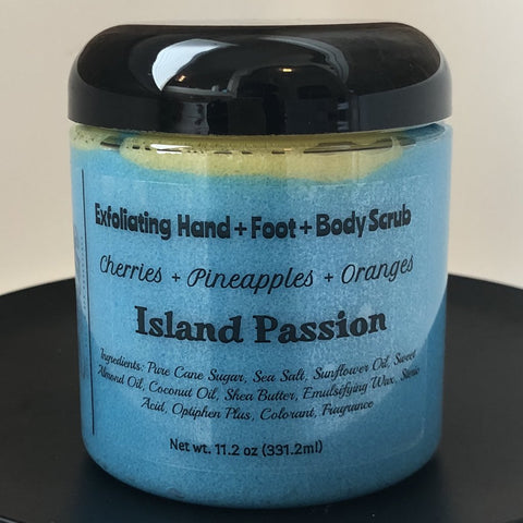 11.2 oz Body Scrub Jars  - (Approved Wholesale Accounts Only)