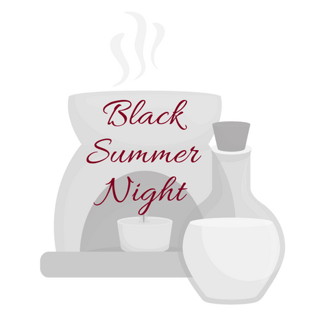 Black Summer Night Aromatherapy Burning Oil
