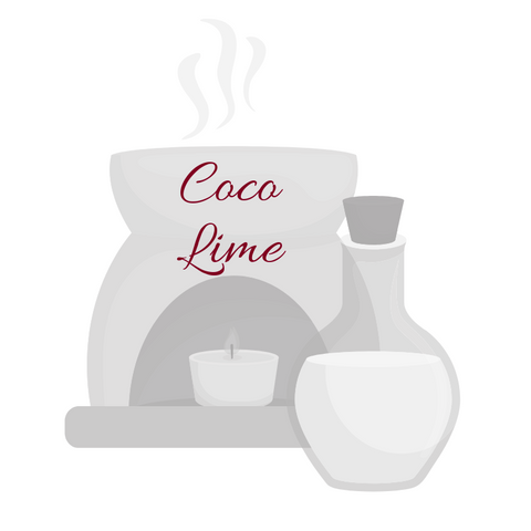 Coco Lime Aromatherapy Burning Oil