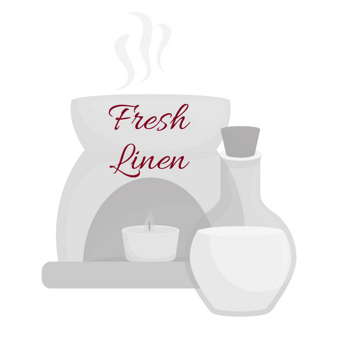 Fresh Linen Aromatherapy Burning Oil