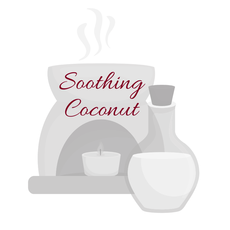 Soothing Coconut Aromatherapy Burning Oil