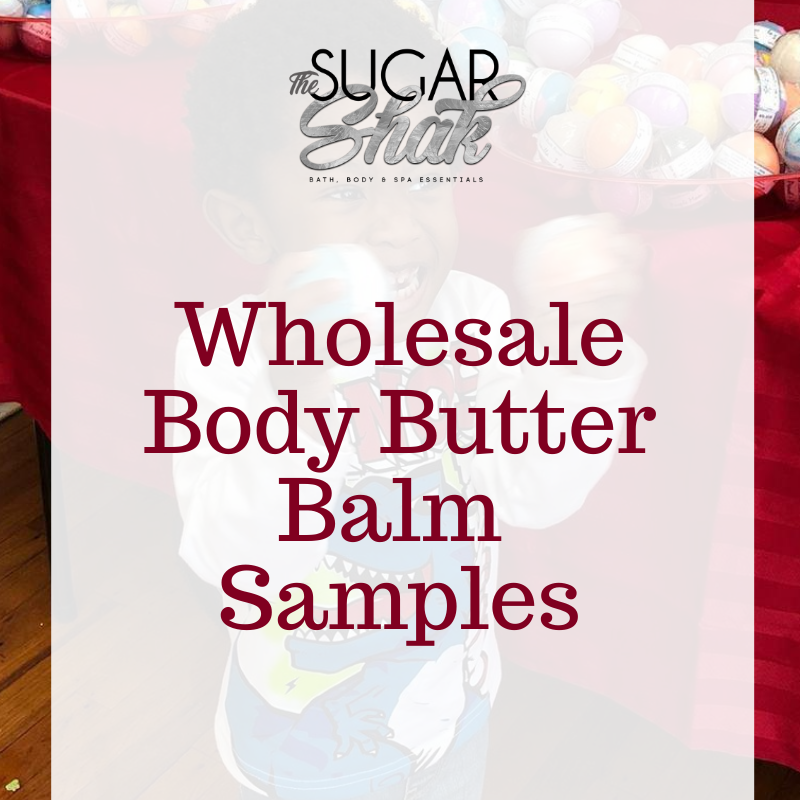 Sample Body Butter Balm Jars (Approved Wholesale Accounts Only)