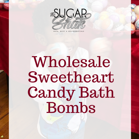Sweet Heart Candy Bath Bombs - Valentines (Approved Wholesale Accounts Only)