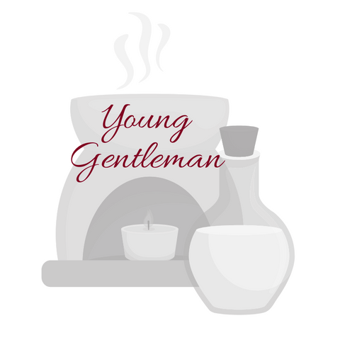 Young Gentleman Aromatherapy Burning Oil