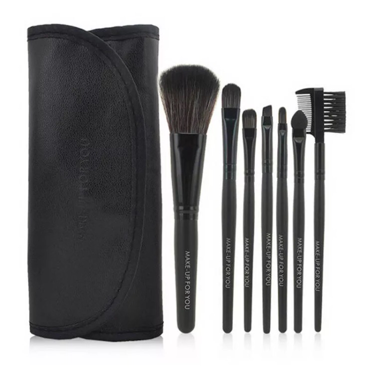 Cosmetic Brush Set (Black)