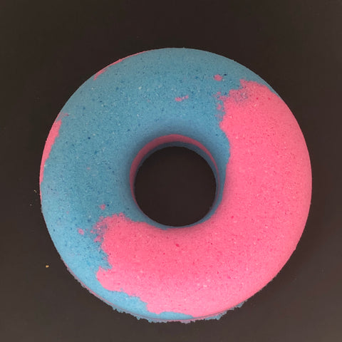 Cotton Candy Donut Bath Bombs
