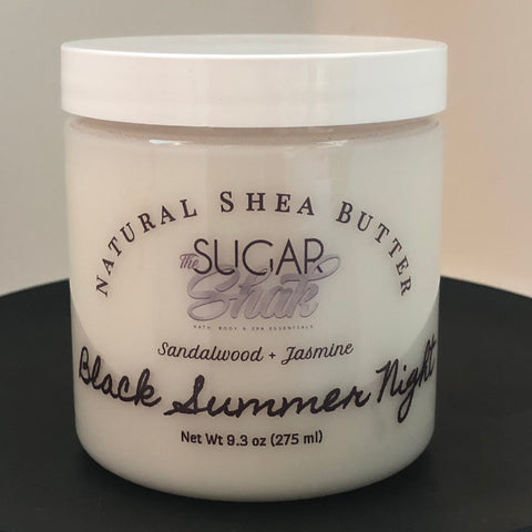 Black Summer Night Shea Butter