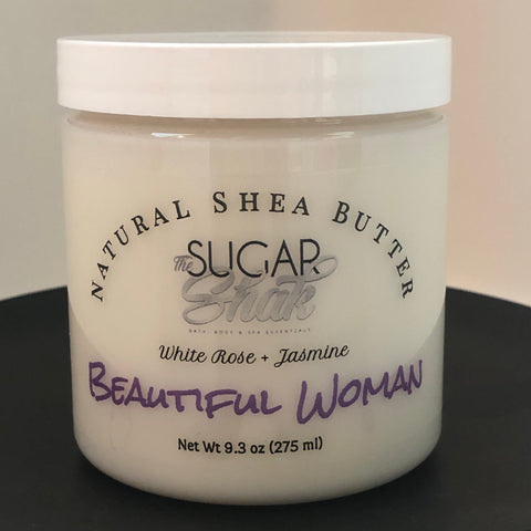 Beautiful Woman Shea Butter