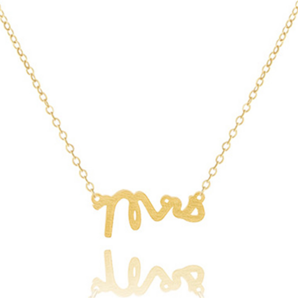 Petite Mrs. Necklace