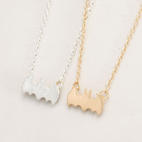 Petite Bat Necklace