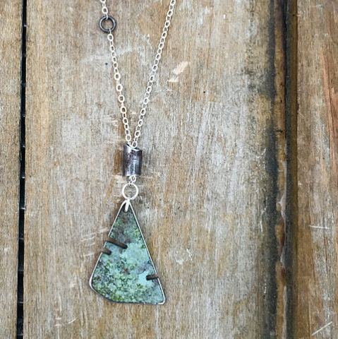 Small Greens Necklace
