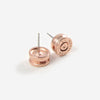 The Ali Bullet Top Stud Earrings