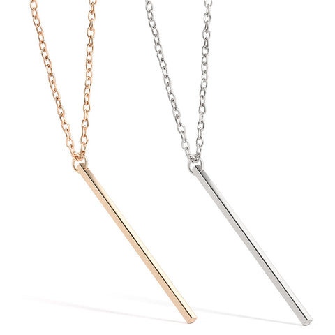Simplicity Bar Necklace