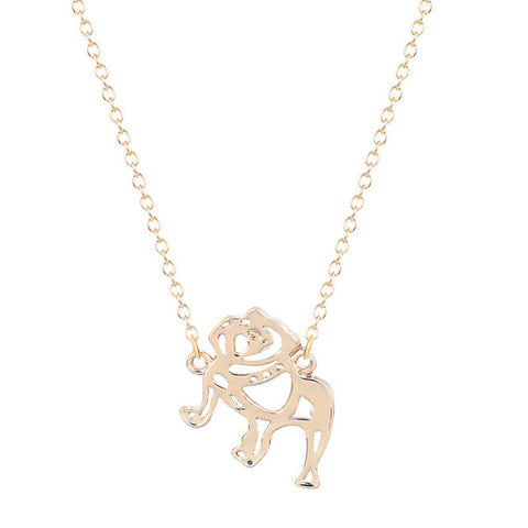 Petite Bulldog Necklace