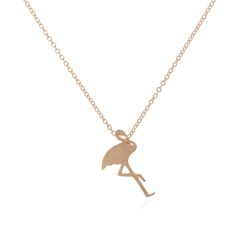 Petite Flamingo Necklace