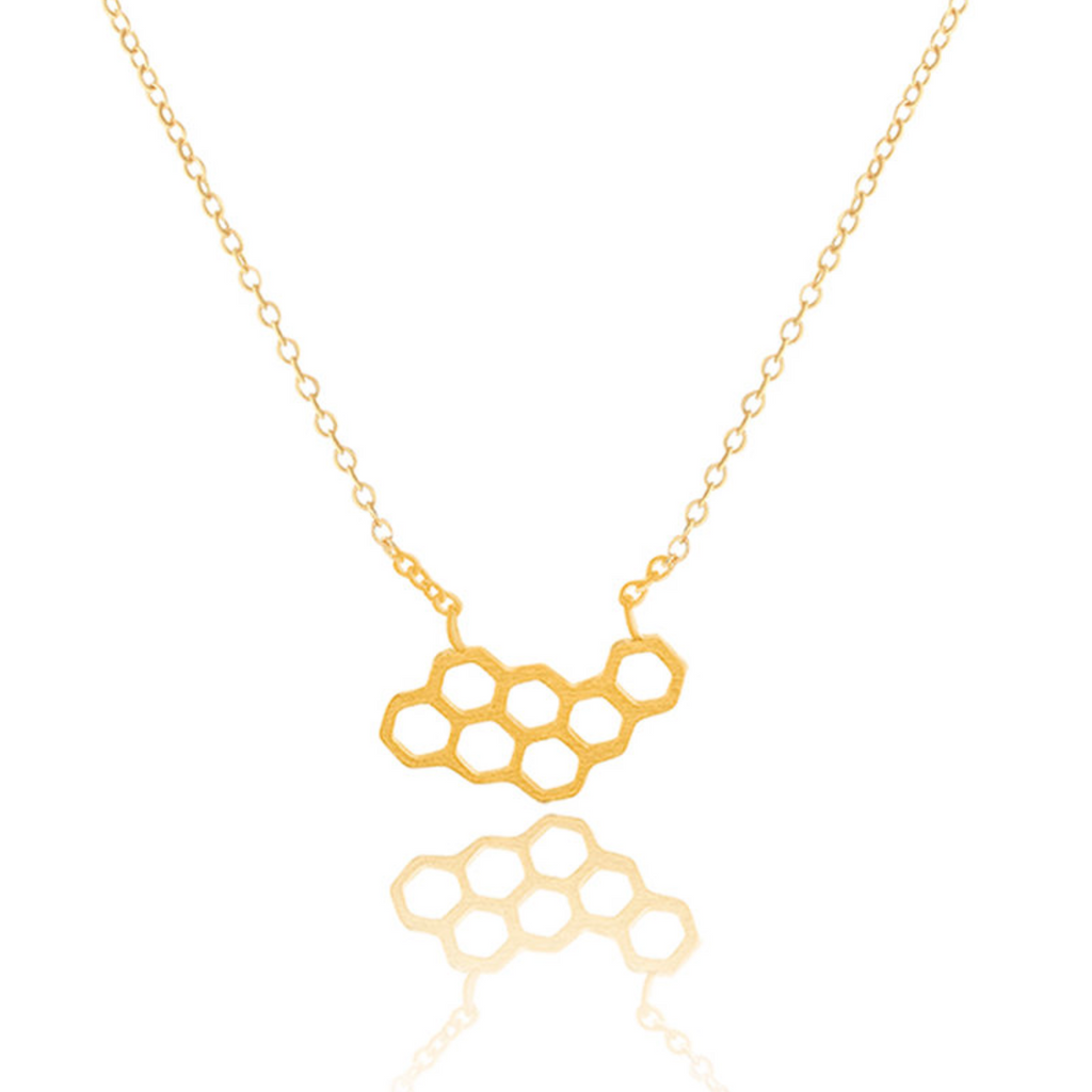 Petite Honeycomb Necklace